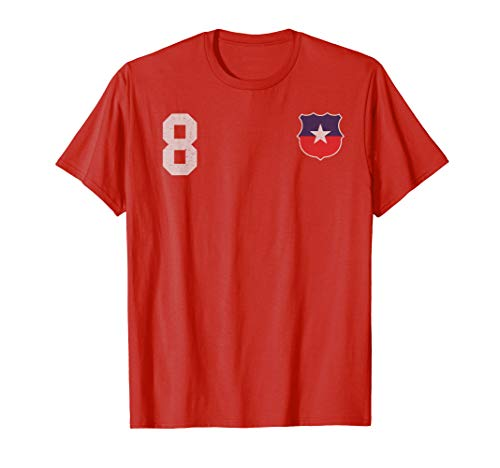 Chile Fußball or Soccer Trikot T-Shirt
