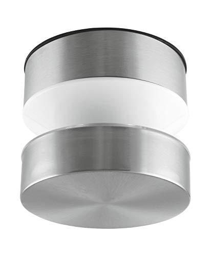 LEDVANCE LED Wand- und Deckenleuchte | Leuchte für Außenanwendungen | Warmweiß | 102,0 mm x 87,0 mm | OUTDOOR SURFACE POLE
