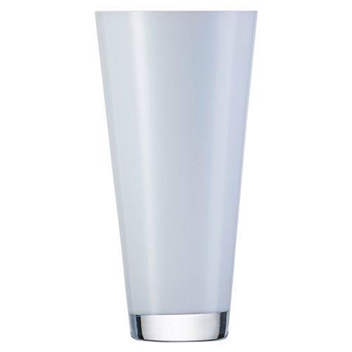 Zwiesel 1872 Vase, Glas, weiß, 13.7 x 13.7 x 29.5 cm
