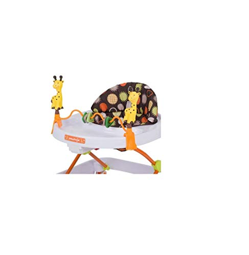 Baby Trend Walker, Safari Kingdom Removable Toy Bar with Toys