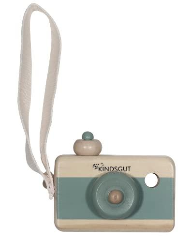 Kindsgut cámara de Madera, Juguete, Madera, cámara fotográfica, Aguamarina