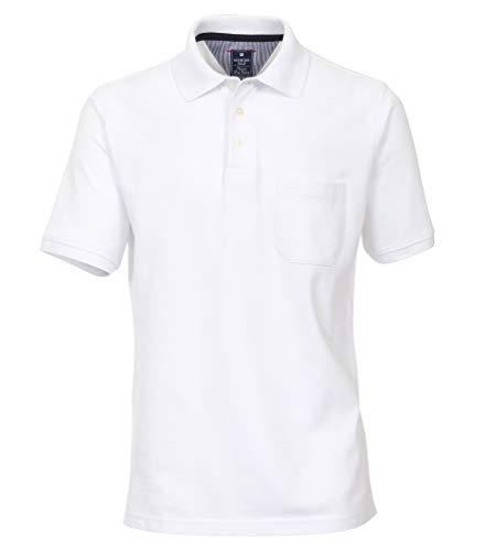 Redmond - Regular Fit - Herren Polo Shirt (900), Größe:3XL, Farbe:Weiß(0)