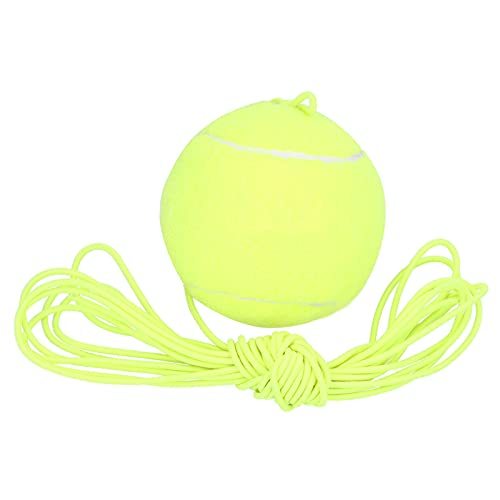 EVTSCAN Tennis Trainingsbal met Elastische String Oefentool voor Single Tennis Player