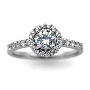 婚約指輪 ケース付 ダイヤモンド プラチナ 0.2カラット 鑑定書付 0.208ct Fカラー VS2クラス 3EXカット H&C CGL サイズ10号