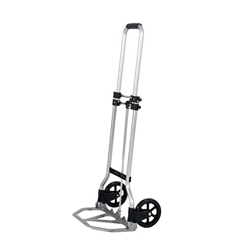 SogesHome Duty Diable Pliant Aluminium Système de Transport Escalier Charge maximale 60 kg, Léger,KT-2022-SH-01