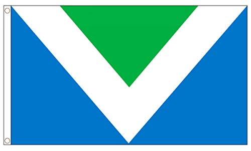 AZ FLAG Bandera del VEGANISMO 150x90cm - Bandera Vegana 90 x 150 cm
