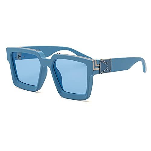 BAJIE Gafas de Sol Gafas de Sol Mujer Internet Celebrity Millionaire Street Shooting Gafas de Sol Mujer Tide Cross-Border Gafas