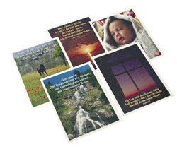 790 126 Postkarten-Set mit 48 schönen Karten christliche Texte