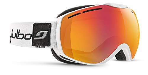 Julbo ISON XCL Masque de Ski Homme, Blanc/Gris/Noir, L+