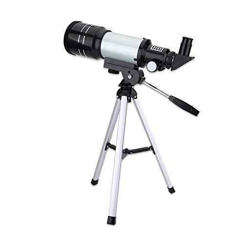 Bewinner Telescopios monoculares, cámara Digital monocular de 150X máx. Monocular astronómico para niños con telescopio portátil, telescopio para niños
