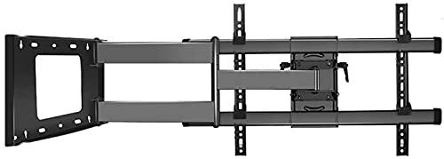 Soporte para TV 37'-75' Soporte de Pared para TV Multifuncional de Movimiento Completo Brazos articulados Giratorios Inclinaciones Rotación de extensión Soporte para TV, VESA máx. 600x400 mm hasta 87