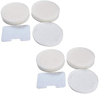 2 Pack Foam and Felt Filter Kit Replacements for Shark Navigator NV22 NV22L NV26 NV100 NV36 UV410 Vacuum Cleaners, Shark Part XF22