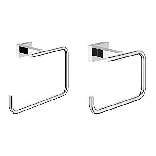 Essentials Cube Handtuchring & GROHE Essentials   BADACCESSOIRES - WC-Papierhalter   40507001
