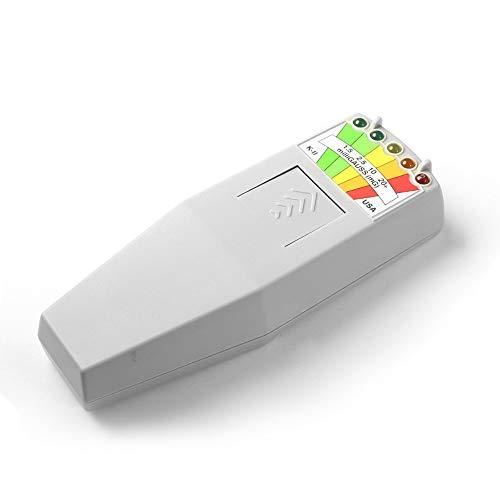 EMF Meter G K-II KII K2 detector de campo electromagnético equipo paranormal de caza fantasma para investigación paranormal o pruebas generales de EMF, 50 Hz hasta 20.000 Hz, gris