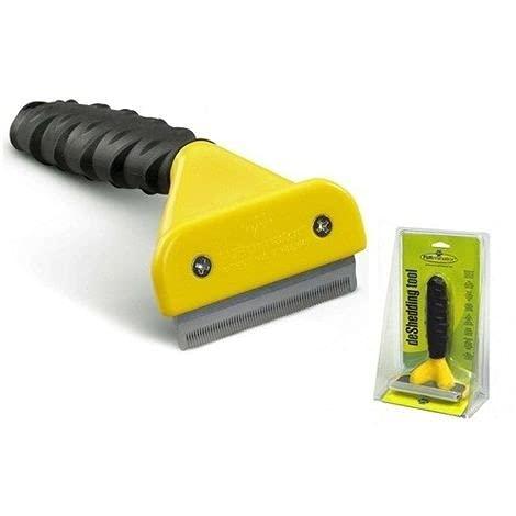 Recortador para la eliminación de pelos del cepillo del instrumento de pérdida de pelo del perro Recortador del pelo cepillo del instrumento de pérdida de pelo del perro