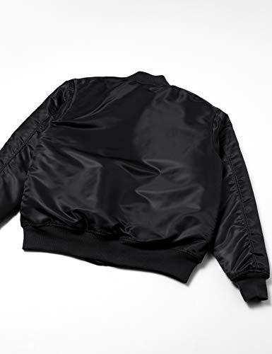 (ユナイテッドアスレ)UnitedAthleタイプMA-1ジャケット(中綿入)748001[メンズ]002ブラックL