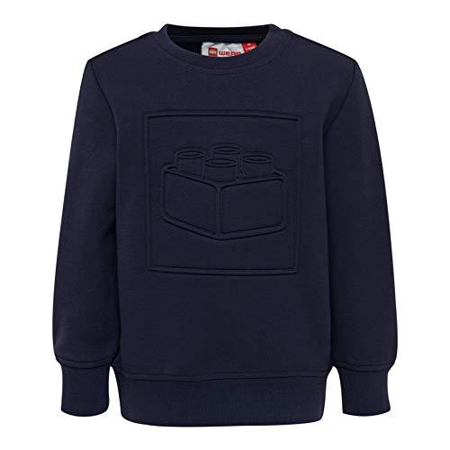 Lego Wear Baby-Jungen LWSIRIUS 781-SWEATSHIRT Sweatshirt, Blau (Dark Navy 590), (Herstellergröße: 98)