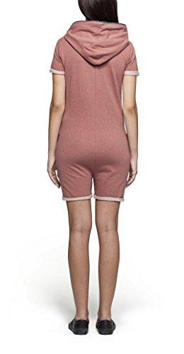 OnePiece Damen Fitted Short Jumpsuit, Rot (Muddy), 40 (Herstellergröße: L) - 2