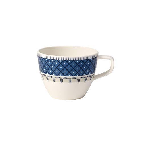 Villeroy & Boch Casale Blu Tasse à café, 250 ml, Porcelaine Premium, Blanc/Bleu