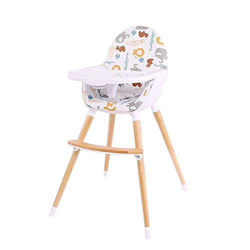 FTFTO Living Decoration Baby Highchairs High Chair Children's Home Baby Dining Table and Chairs solid Wood Recliner (Color : #3)