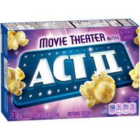 Sale!! ACT II Microwave Popcorn Movie Theater Butter - 3 CT