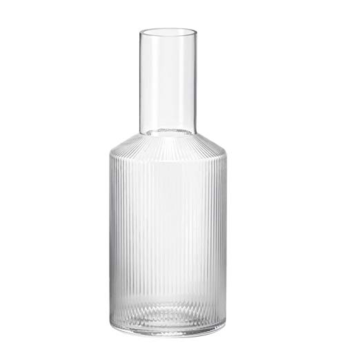 Ferm Living 5439 Ripple Karaffe, Glas