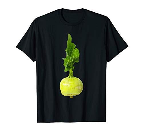Fasching Karneval Kostüm Kohlrabi Gemüse Fastnacht T-Shirt