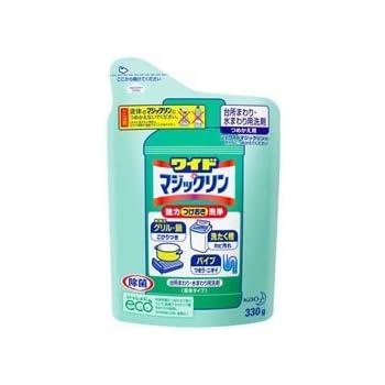 【花王】ワイドマジックリン つめかえ用 330g ×5個セット