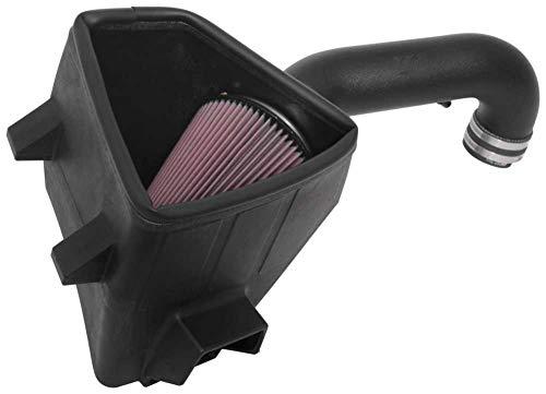 K&N Cold Air Intake Kit: High Performance, Guaranteed to Increase Horsepower:  2019 Dodge Ram 1500, 5.7L V8,63-1578