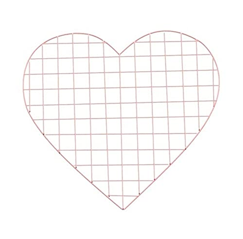 DNAMAZ Grid Heart Type Grid Photo Wall Iron Wall According To Grid Panel Frame Photo Grid Panel Frame Home Decoration wall