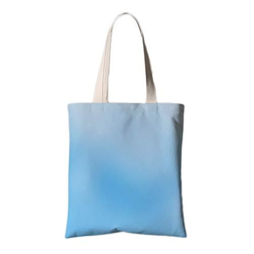 WDX Umweltschutztasche, Retro, niedlich, eine Schulter Leinen, Stoff, Umweltschutz, baumwolle, e, 40*45cm