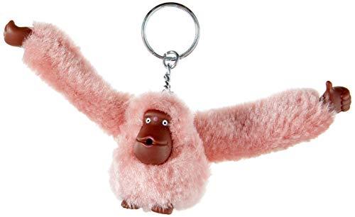 Kipling Unisex_Adult MONKEYCLIP S Monkeys & KEYHANGERS, Monkey L Pink, 4x4.5x5 cm