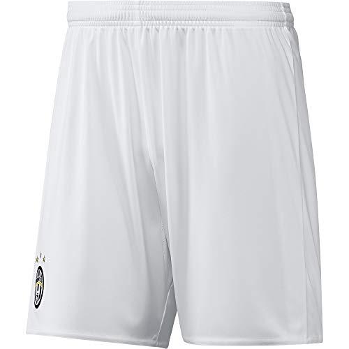 adidas Juve A SHO 2 Kit Juventus FC 2015/16, Pantaloncini Uomo, Bianco/Blu (Blanco/Azuvit), 2XL