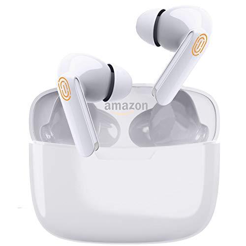 Bluetooth Kopfhörer,Bluetooth ohrhörer in Ear,mit CVC8.0 Noise Cancelling Mikrofon Kabellos Kopfhörer,Touch Control Kopfhörer IPX5 wasserdichte mit 650mAh Schnellladebox für iPhone/Airpods/Android