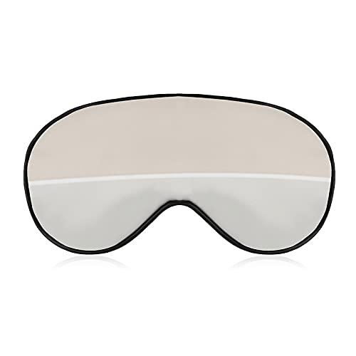 Eye Mask,Blindfold,3D Contoured Sleep Mask Light Blocking Blindfold Plush...