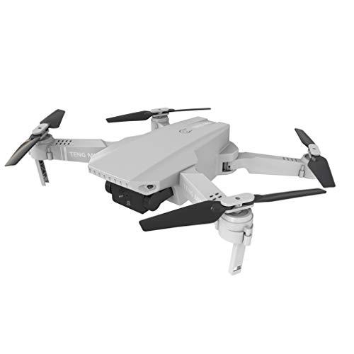 TENG MINI Drohne mit 4K Kamera, Faltbare FPV Drohne für Erwachsene, Ultraleichte Faltdrohne Verfolgermodus Automatische Rückkehr Gestenerkennung, APP Handy gesteuerte Drohnen mit Tasche (Weiß)