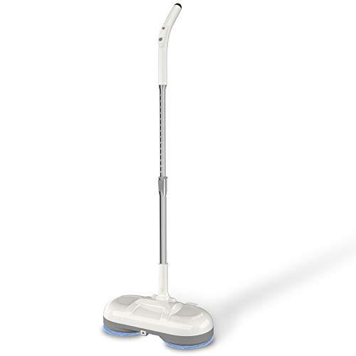 SGIN EU, mocio elettrico da spinning, ricaricabile, pulitore per pavimenti e moquette
