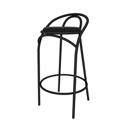 SQQSLZY Taburetes de Bar, taburetes Altos Simples nórdicos, sillas Altas para el hogar, taburetes de Bares de Respaldo