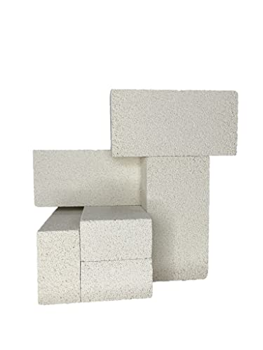 """Insulating FireBrick 9"""" X 4.5"""" X 2.5"""" in (6 Pieces)"""