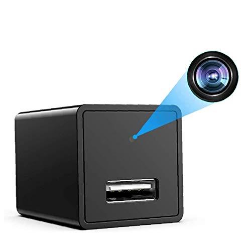 FeelMeet Cámara IP WiFi USB Cargador portátil visión Nocturna Movimiento Adaptador de CA Detección Remota aplicación de la cámara de Control de Interior al Aire Libre
