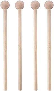 Xylophon Schlägel für Kinder 4 Stück Marimba Schlägel Länge 37 cm,