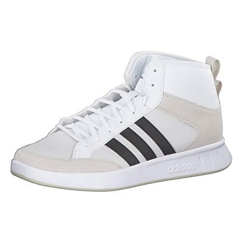adidas EE9678 COURT80S Sneakers Alte Hi Pelle Bianco