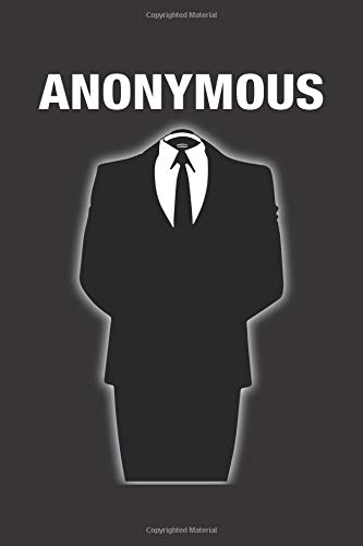 Anonymous: Blank Lined Notebook, Journal or Diary