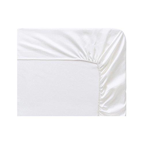 Bianco in Cotone 90 x 190 cm Essix Home Collection con Angoli