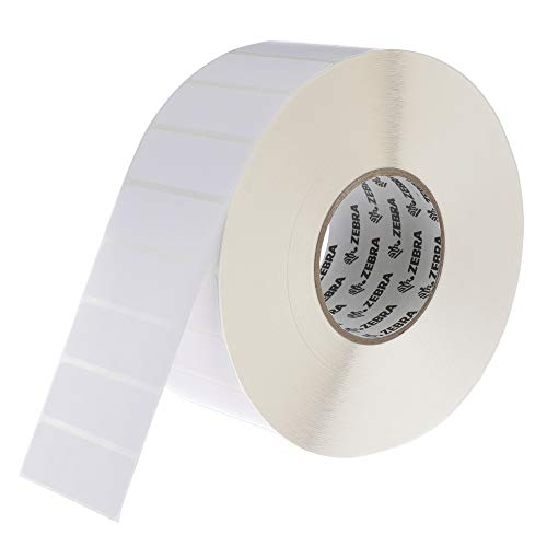 Zebra - 3 x 1 in Direct Thermal Paper labels, Z-Perform 2000D Permanent Adhesive Shipping labels, Zebra Industrial Printer Compatible, 3 in Core - 6 rolls - 10031653SP