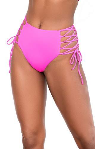 Mapale 6649 High Waist Bottom Hot Pink