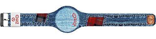 Orologio digitale unisex grande ZITTO JEANS STREET EDITION in silicone blu jeans SCOTTISHREMIX-MAX-KH