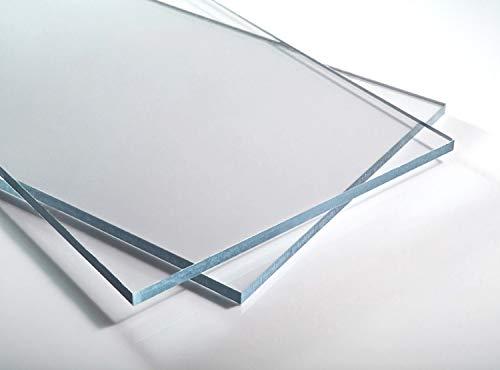 Plaque de verre acrylique, dimensions A4 ou 297 x 210 mm, épaisseur 3mm, plastique pour la fabrication de modèles, pour la maison et le jardin, couleur : transparent
