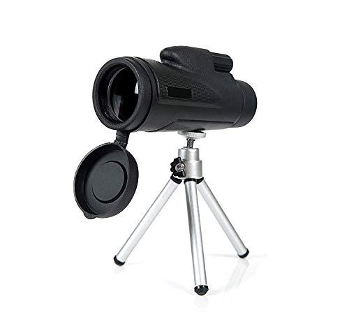 H&1 HD Telescopio Telescopios monoculares, telescopios telefónicos con visión Nocturna Baja Alcance Impermeable para Adultos con Adaptador de fotografía para teléfon