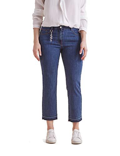 Elena Mirò : Jeans Skinny alla Caviglia Blu 41 Donna